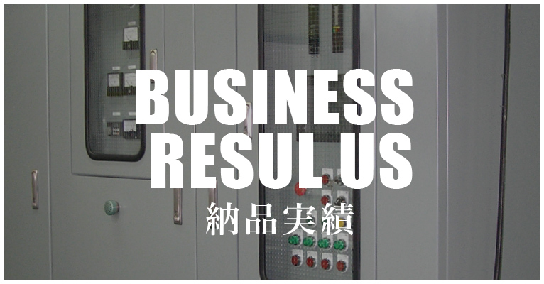 BUSINESS RESUL US 納品実績