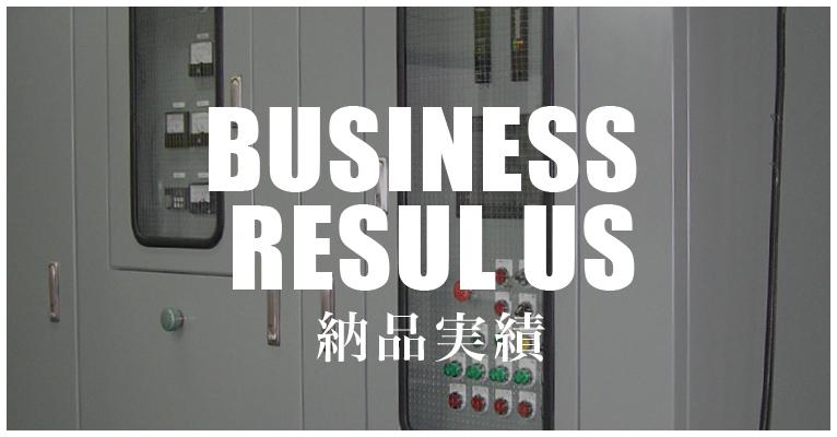 BUSINESS RESUL US 納品実績